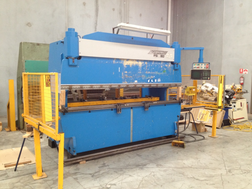 hydraulic press machine guarding